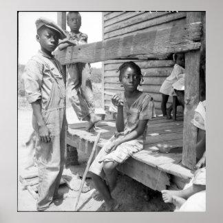 Mississippi Delta Children Poster