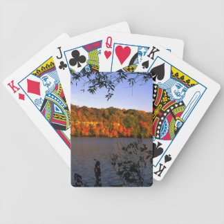 Mississippi Fall Bicycle Playing Cards