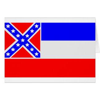 Mississippi Flag Card