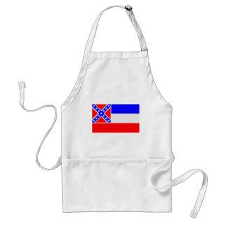 Mississippi Flag Standard Apron