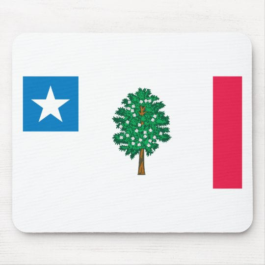Mississippi Flag T-Shirts (1861) Mouse Pad