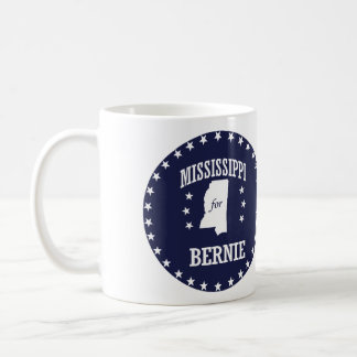 MISSISSIPPI FOR BERNIE SANDERS COFFEE MUG