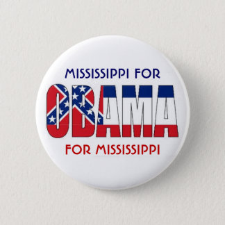 MISSISSIPPI FOR OBAMA Button