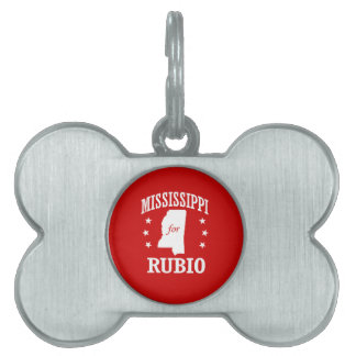 MISSISSIPPI FOR RUBIO PET TAGS