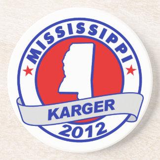 Mississippi Fred Karger Coaster