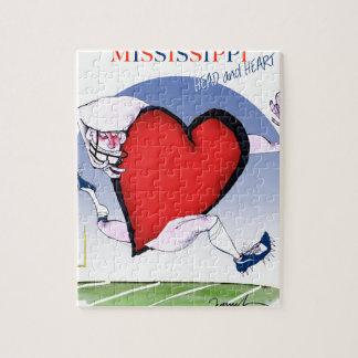 mississippi head heart, tony fernandes jigsaw puzzle