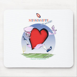 mississippi head heart, tony fernandes mouse mat
