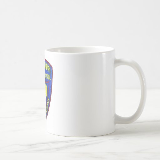 Mississippi Highway Patrol Classic White Coffee Mug