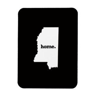 Mississippi Home Rectangular Photo Magnet