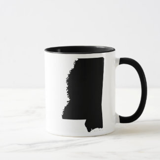Mississippi in Black and White Mug