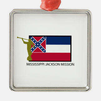 MISSISSIPPI JACKSON MISSION LDS CTR CHRISTMAS ORNAMENT