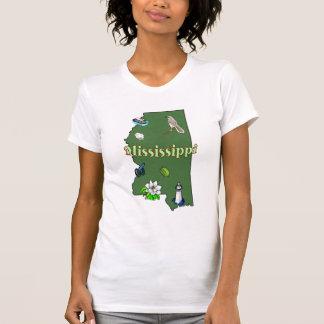 Mississippi Ladies Casual Scoop T-shirt