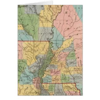 Mississippi, Louisiana, Arkansas Card