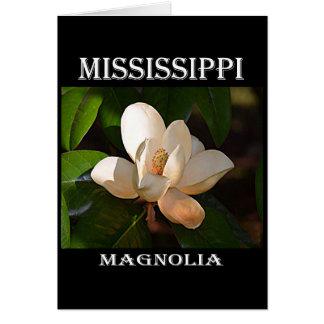 Mississippi Magnolia Card