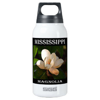 Mississippi Magnolia Insulated Water Bottle