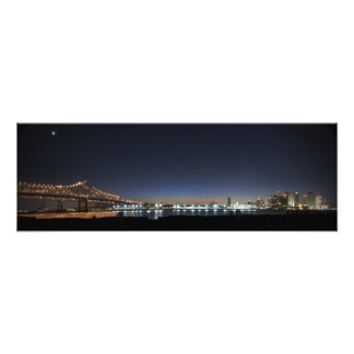 Mississippi New Orleans Panorama Photo Print