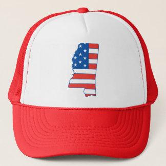 Mississippi Patriotic Hat