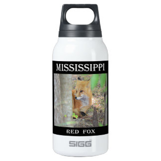 Mississippi Red Fox Insulated Water Bottle