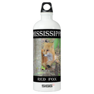Mississippi Red Fox Water Bottle