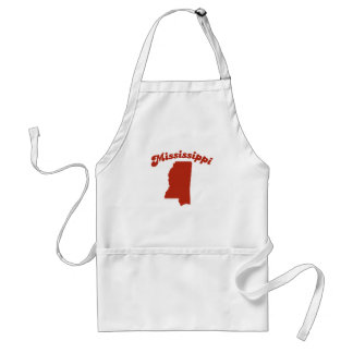 MISSISSIPPI Red State Adult Apron
