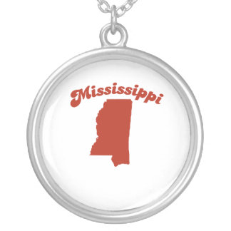 MISSISSIPPI Red State Necklaces