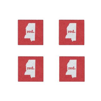 Mississippi Republican Stone Magnet