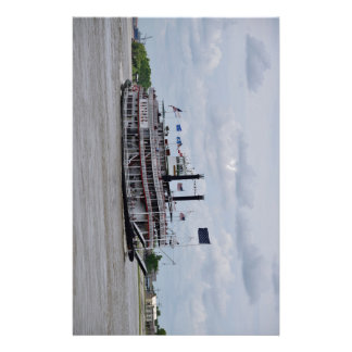 Mississippi River Boat New Orleans Customised Stationery