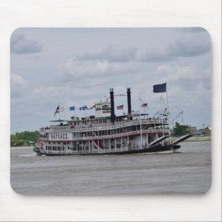 Mississippi River Boat New Orleans Mouse Mat