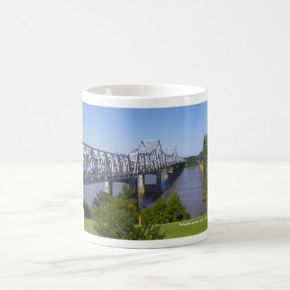 Mississippi River Bridge Mug