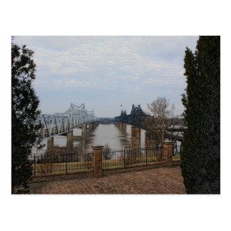 Mississippi River Bridges Postcard