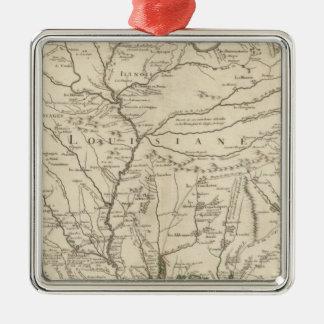 Mississippi River Christmas Ornament