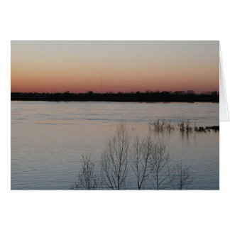 Mississippi River Greeting Card