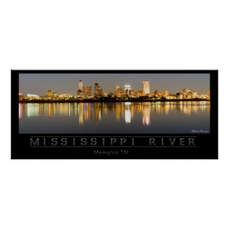 Mississippi River - Memphis TN Posters