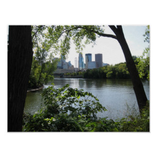 Mississippi River @ Minneapolis Poster