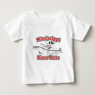 Mississippi River Rat Baby T-Shirt