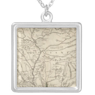 Mississippi River Silver Plated Necklace