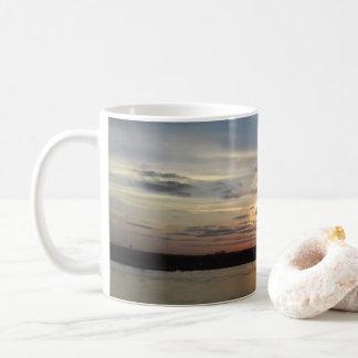 Mississippi River Sunrise Bridge Mug |Summer Haven