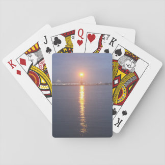 Mississippi River Sunrise Playing Cards