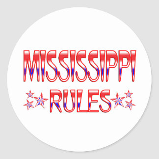 Mississippi Rules Stickers