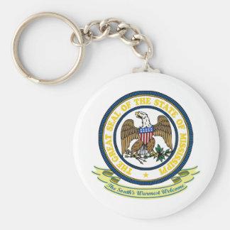Mississippi Seal Key Ring