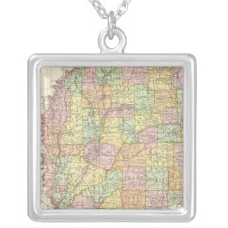 Mississippi Silver Plated Necklace