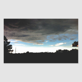 Mississippi Sky Rectangular Sticker