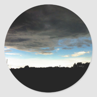 Mississippi Sky Classic Round Sticker