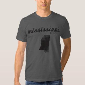 Mississippi State on Grey Tshirts
