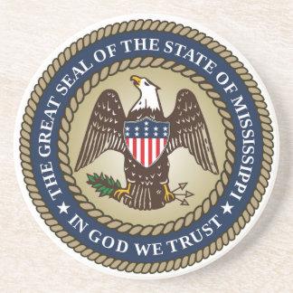 Mississippi state seal america republic symbol fla coaster
