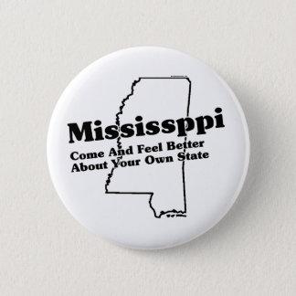 Mississippi State Slogan 6 Cm Round Badge