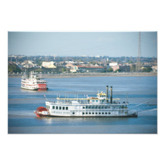 Mississippi Stern Wheelers Photo Print