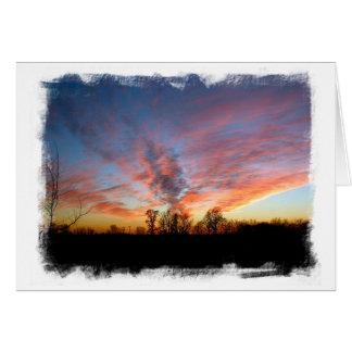 Mississippi Sunset Card