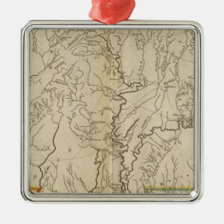 Mississippi Territory 2 Christmas Ornament