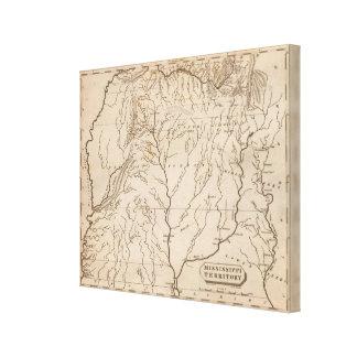 Mississippi Territory 4 Canvas Print